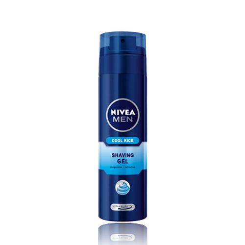 ژل اصلاح مردانه نیوآ مدل Cool Kick 200ml | Nivea Cool Kick 200ml Shaving Gel